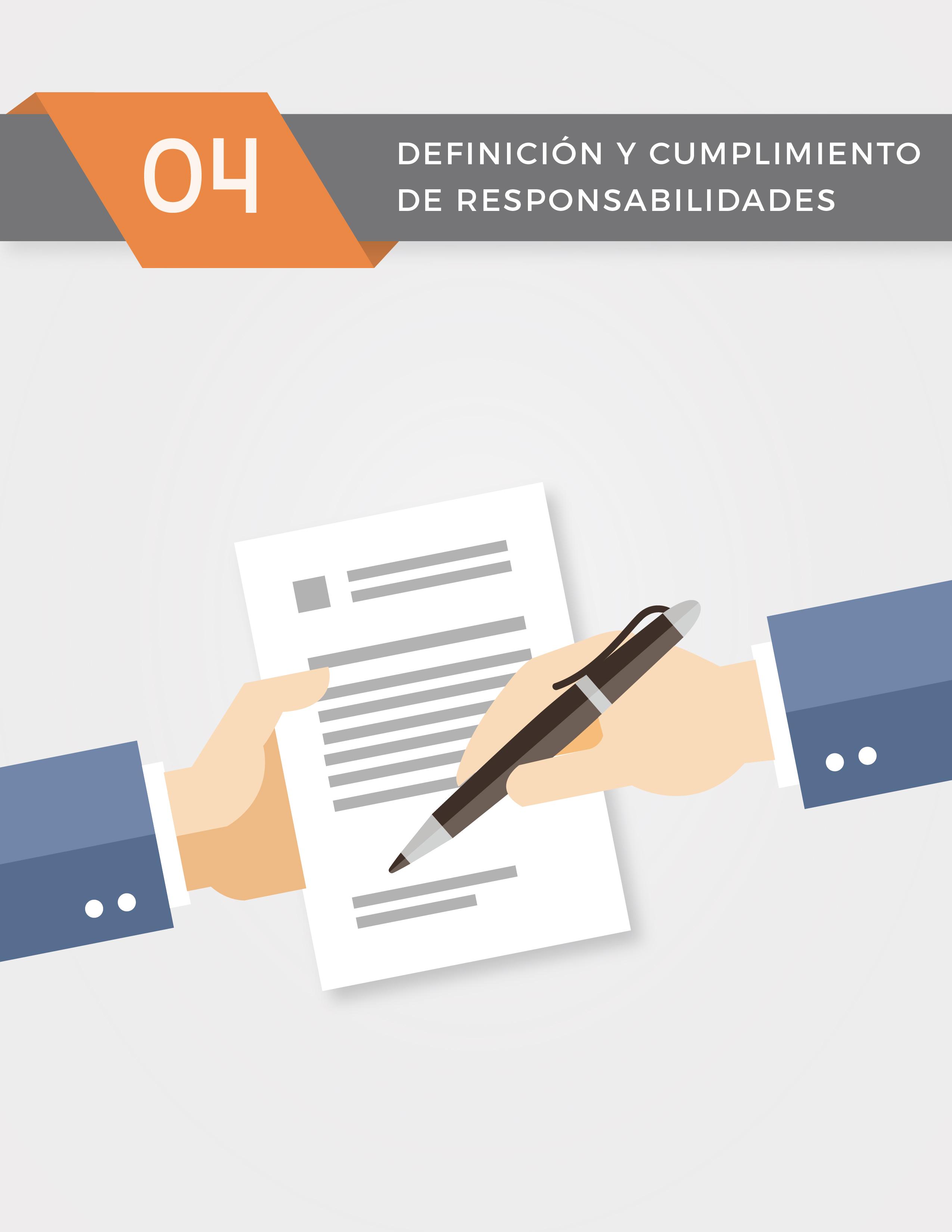 Nivel 4: Definición y Cumplimiento de Responsabilidades ...